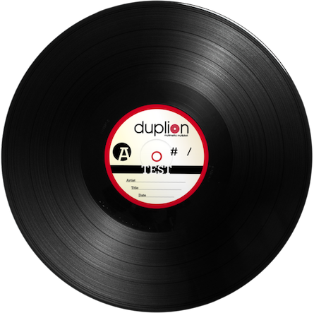 Duplion Vinyl Record
